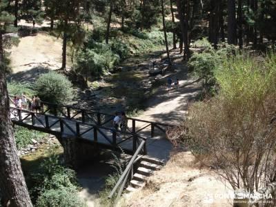 Pesquerías Reales y Fuentes de La Granja;clubs senderismo madrid mochila para senderismo viaje send